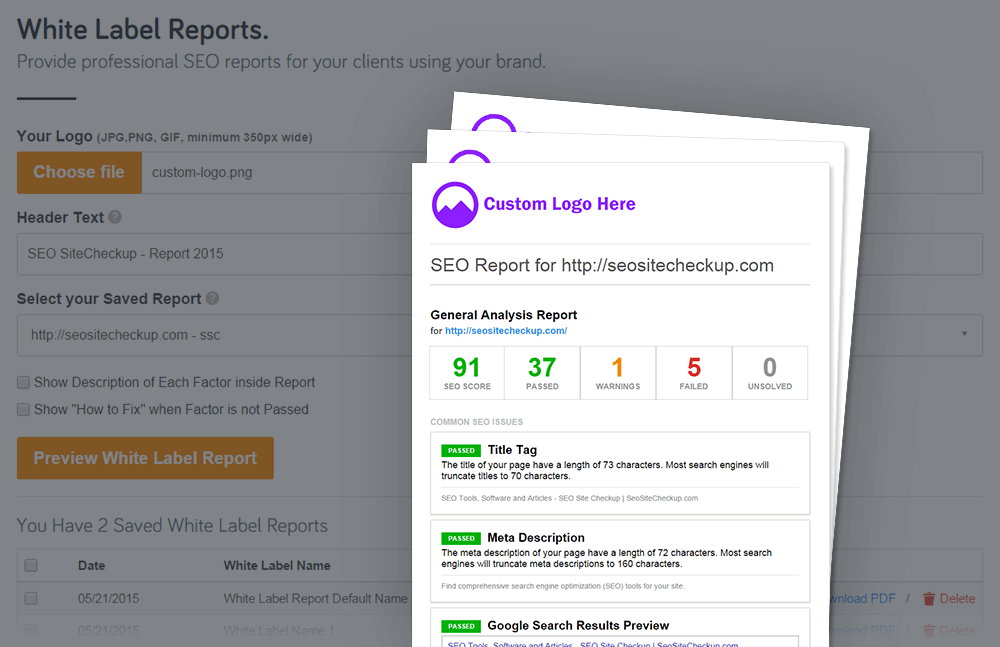 SEO ToolBox White Label